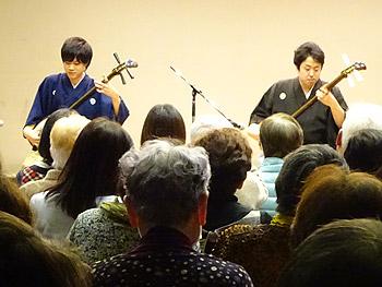 凱旋!箕面出身の若き津軽三味線奏者…「桃響futari」演奏会