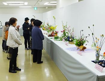 箕面市茶華道文化連盟創立60周年記念「いけばな展」