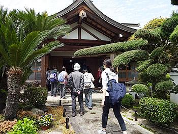 阪急宝塚沿線観光あるき「帝釈寺コース」