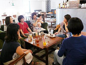 みのおママの学校「じょさんしカフェ」