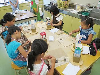 夏休みこども陶芸教室