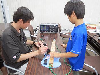 エレキギターを作ろう!大阪大学ものづくり教室