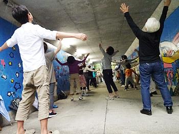 小野原南1号公園のラジオ体操