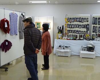 シルバー人材センターのみなさんの作品展が行われました!