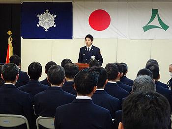 3月7日は「消防記念日」。大阪府下消防職員意見発表会に向けて