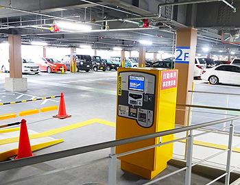 ますます便利に!箕面駅前第一駐車場がリニューアルオープン