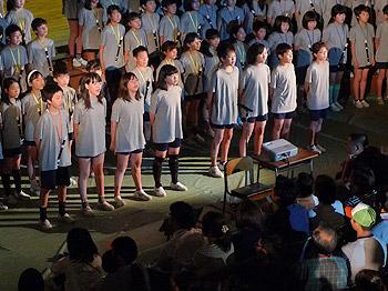 子どもたちが受け継ぐ、平和への思い…萱野小学校の学習発表会