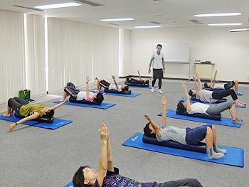 箕面SC「体幹トレーニング」