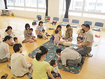 ファミサポ「子どもの救急講習会」
