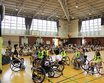 車いすバスケットボール体験・交流会