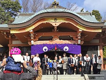 瀬川神社の節分祭