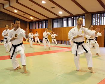 日本の技、世界に広がる!箕面市空手道協会が空手で国際交流
