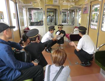 阪急箕面駅で「トレインイベント」開催!