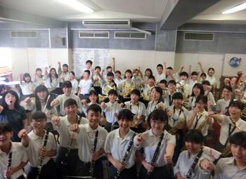 箕面市立第六中学校吹奏楽部、関西大会へ!
