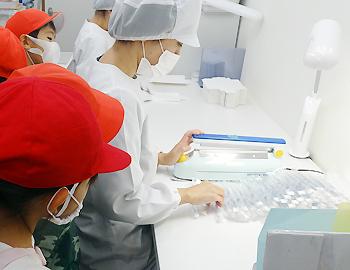 小学生が歯ブラシ「MISOKA」へ社会見学