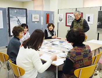 中塚モリトシさんの絵画ワークショップが行われました