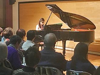林そよかピアノコンサート、モーツァルトを堪能するひととき