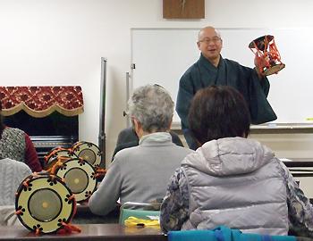 「能学を学ぼう!謡と小鼓体験教室〜」が開催されました