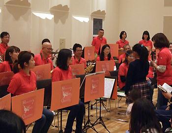 箕面市ウインド・オーケストラの「スプリングファミリーコンサート」が行われました!