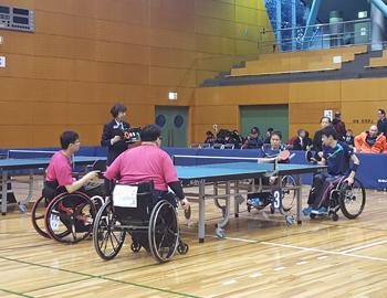 箕面で熱戦!第38回ジャパンオープンパラ卓球選手権大会