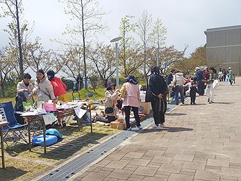 第2回大阪青山リュックサック桜マーケット