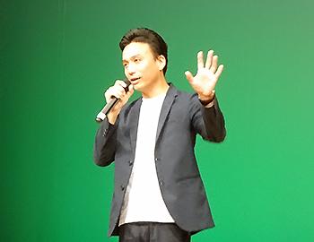 「箕面シニア塾」開講式で倉田操さんが基調講演