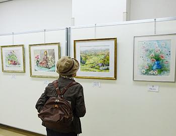 第30回箕面西南スケッチ同好会作品展、11月1日まで開催