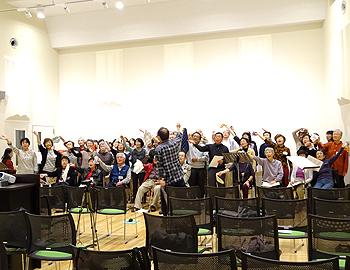 箕面シニア塾「みんなで歌おう!思い出ソング」公開ライブに向けて