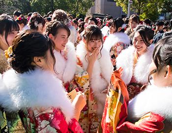 おめでとう!ハタチ「箕面市成人祭」