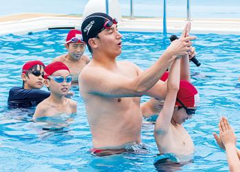 競泳オリンピックメダリスト
