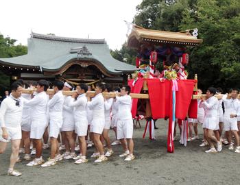 粟生地域の秋祭り2019