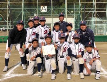 西南少年野球団エンデバースが大会で準優勝!