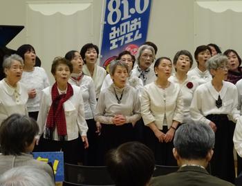 箕面シニア塾「みんなで歌おう!世界の名歌」発表会