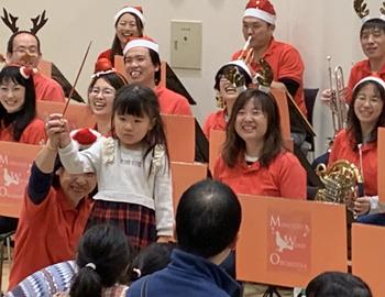 箕面市ウインドオーケストラのクリスマスコンサート
