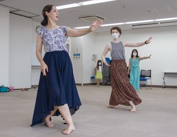 ペルシャンダンスのワークショップ