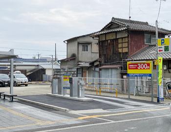 「桜井駅前24時間駐車場」が期間限定オープン