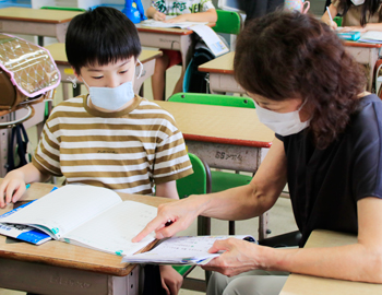 放課後学習室「すたさぽ」が、市立小学校で