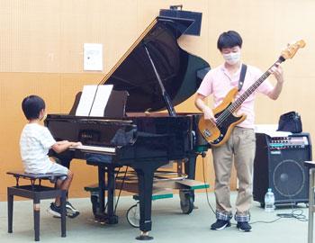 「みのおこども文化体験フェア」でジャズピアニスト・石田ヒロキさんがレクチャー