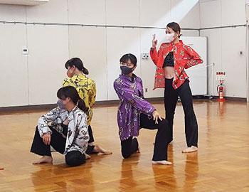 「ミルキーウエイダンスコンサートVol.9」に向けて力いっぱい練習中!