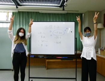 知りたい表現を学ぶ「みんなの手話講座」が開催!これは「平和」の国際手話です