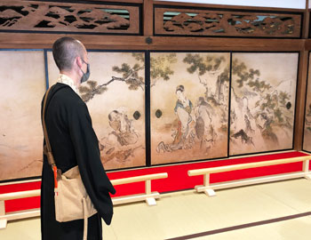 台風被害による修繕工事が完了し公開へ。瀧安寺の客殿、鳳凰閣の内覧会