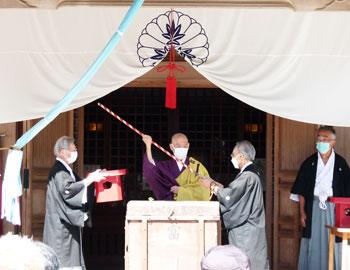 辯財天秋祭り「箕面富」が、2年ぶりに開催